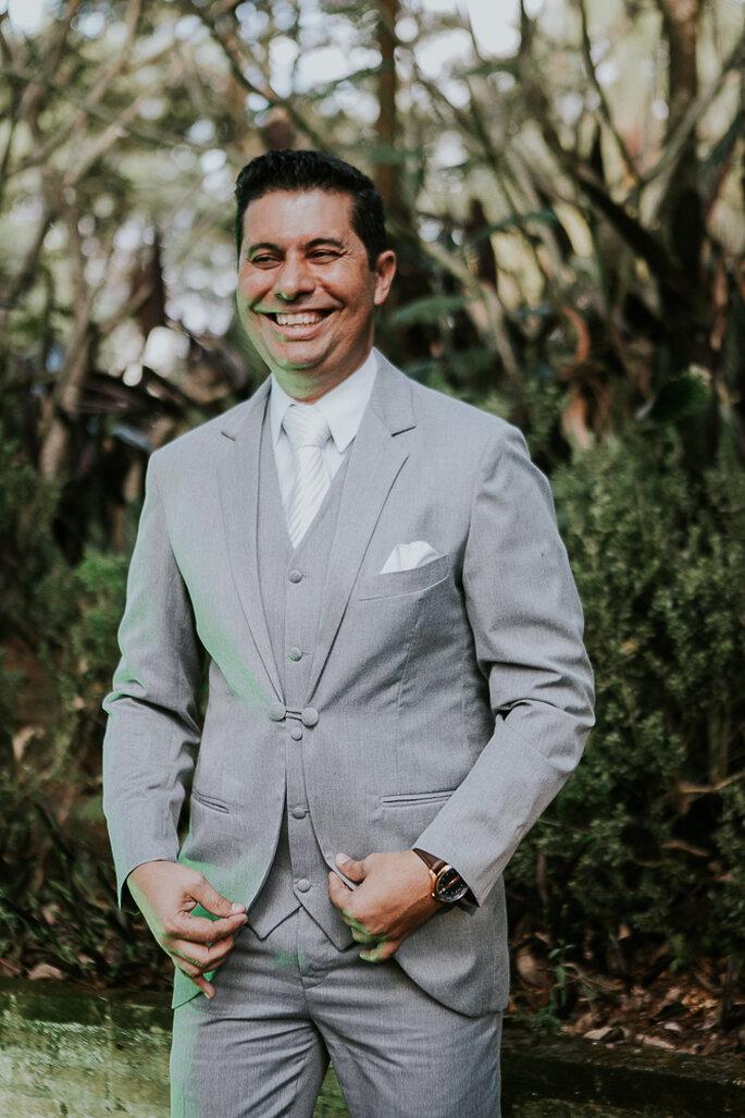 Traje do noivo: Only for Men - Fotografia: Theo Barros Fotógrafo