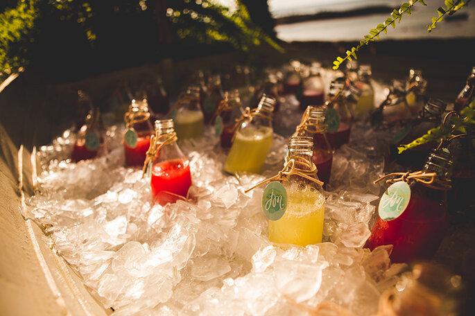 Bebidas em casamento