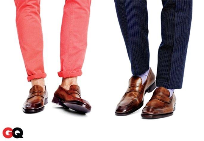 Clásico y casual, dos estilos para el novio - Foto GQ
