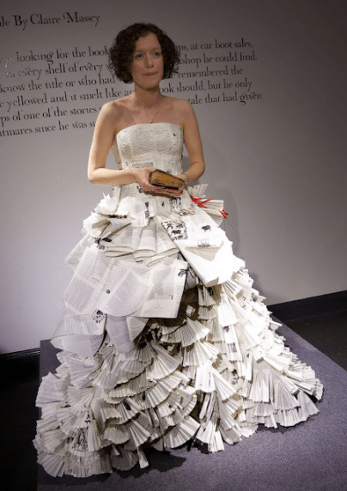 Dresses Made From Books