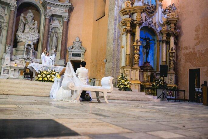 Bodas & Glamour ceremonia catedral cartagena
