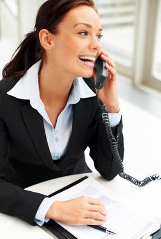 Mujer de negocios con un traje ejecutivo - Foto: Pixmac