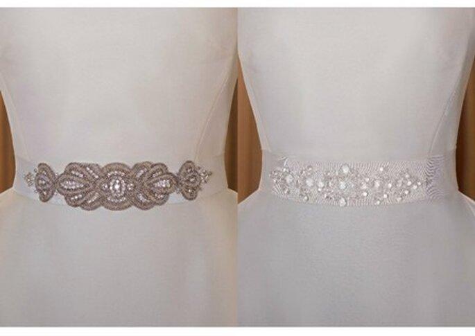 Cinturones de vestidos de novia - Pronovias 2011