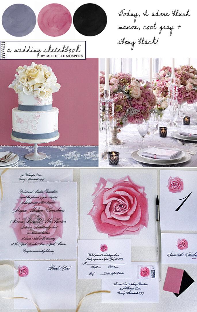Cores para Casamentos - A Wedding Sketchbook