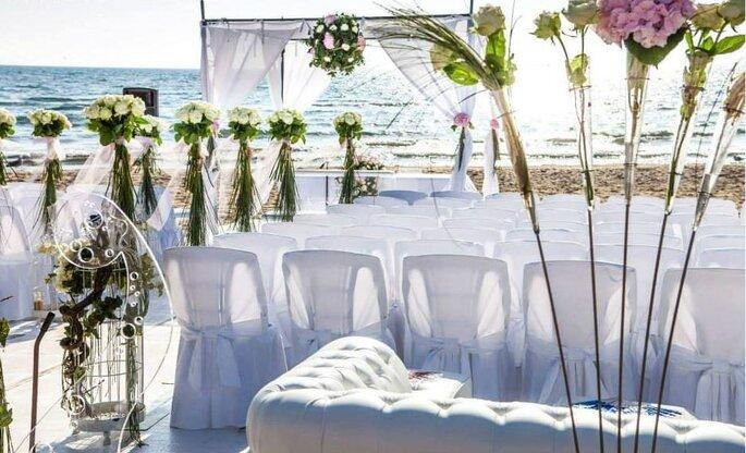 Amis Catering & Banqueting - cerimonia in spiaggia