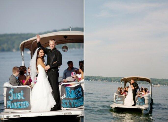 Toma en cuenta las fechas de vacaciones para elegir la fecha de tu boda - Foto Jen Lynne
