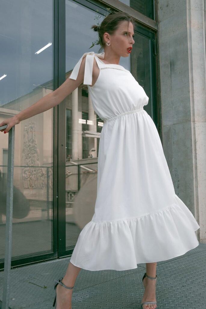 Oksana Coquard - créatrice de robe de mariée à Paris