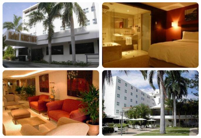 Instalaciones del Hotel Kristoff en Maracaibo, estado Zulia. Foto: www.tvtrip.com