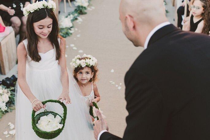 Pajecitos en tu boda