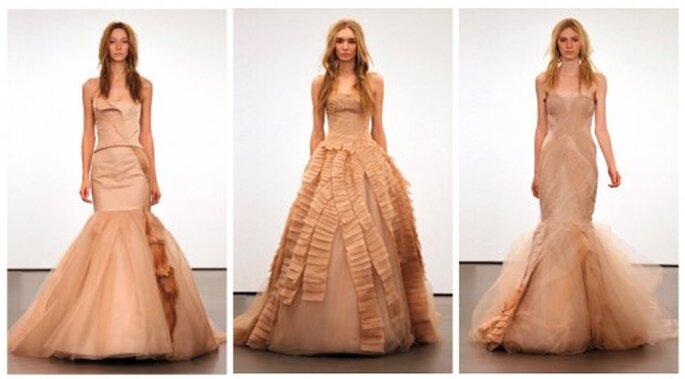 Vera Wang - Colección novias otoño 2012
