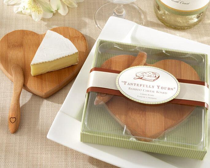 Tabla de queso en madera orgánica. Foto: Tienda virtual Invita