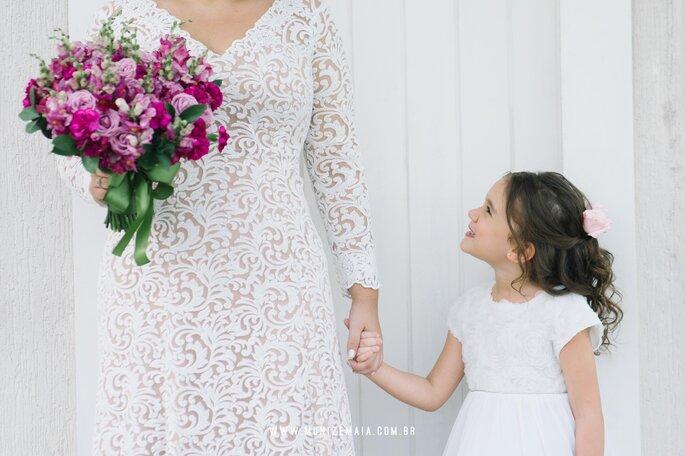Noiva e filha