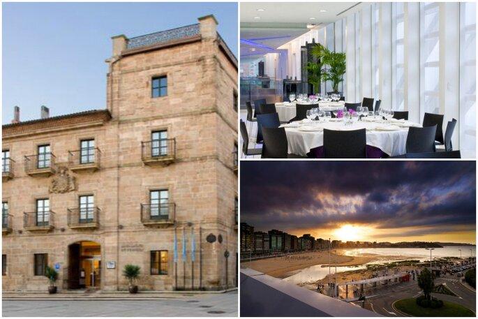 NH Palacio de Ferrera, Ayre Oviedo y Hotel Abba Playa Gijón