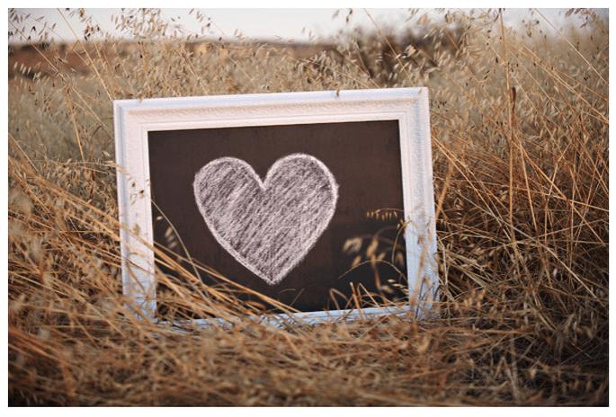 Una boda inspirada en San Valentín con muchos corazones - Foto Gavin Wade Photography