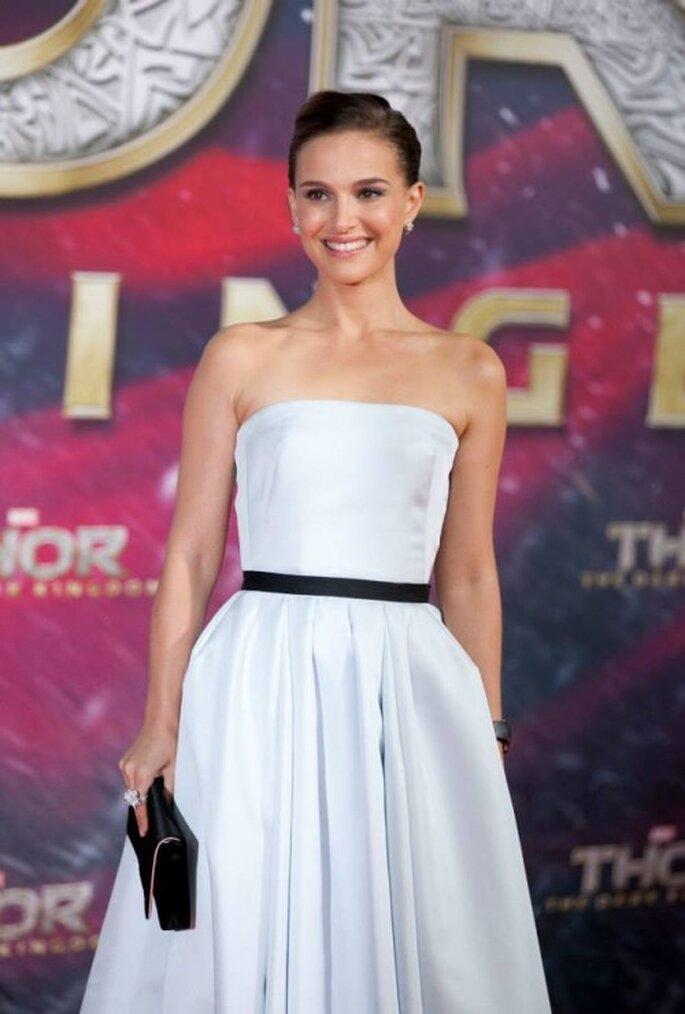 Inspírate en Natalie Portman para tu look de novia - Foto Thor Facebook