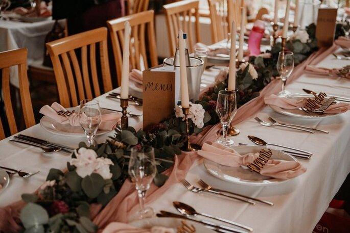 Kiehl Wedding Hochzeitsplanung Tischdekoration Hochzeit