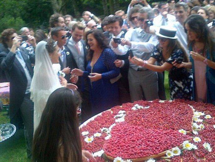 La boda de Margherita Missoni - Foto Cortesía de Laetitia Crahay vía Twitter