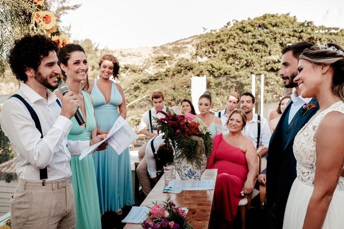 Casamento na praia em Búzios