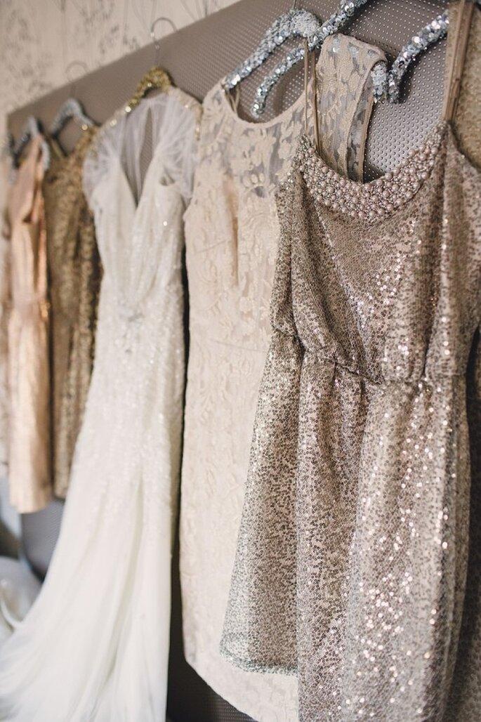Los vestidos de damas desiguales, una tendencia que debes aplicar - Foto Lauren Fair Photography