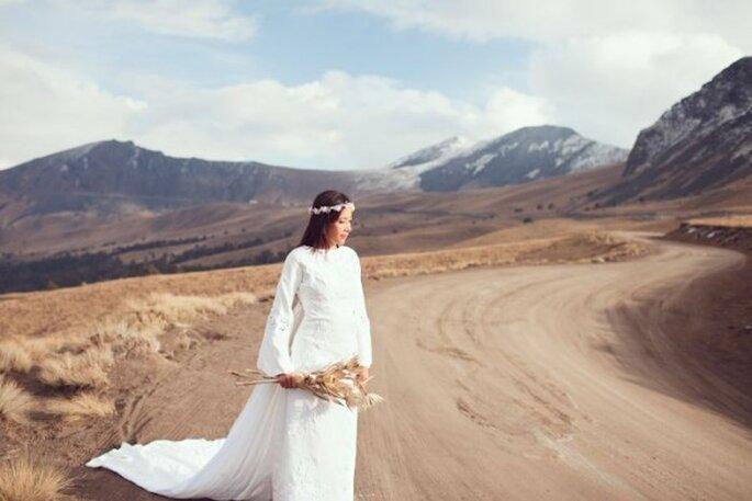 """La tendencia """"Harmony"""" será toda una declaración de estilo el día de tu boda - Foto Abimelec Olaìn Photography"""