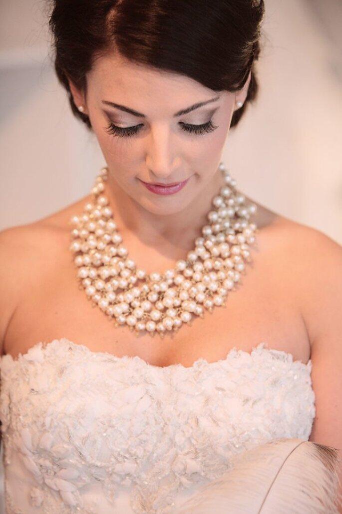 Perlas en tu look de novia - Kristin Vining Photography