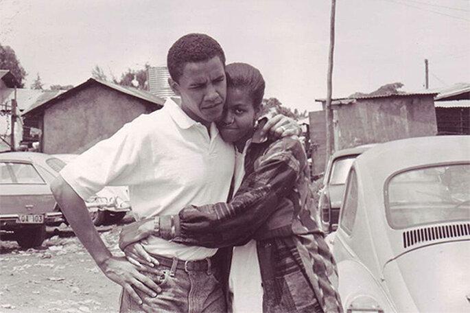 El Presidente y la Primera Dama se conocieron en el bufete de abogados en el que trabajaban. Foto: Facebook