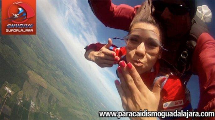 Regala una experiencia fantastica. Fotos de Skydive Guadalajara