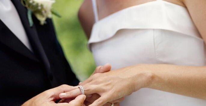 échange des alliances de mariage : émotion assurée !