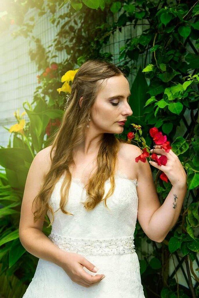 Noiva maquilhada por Vera Moniz Make up Artist