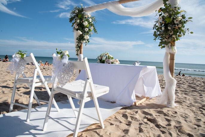 Altar na praia