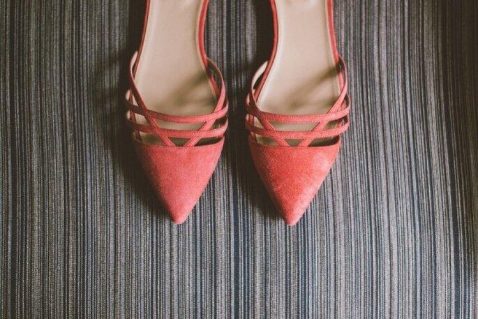 Zapatos de novia en lindos colores - Christy Cassano Meyer