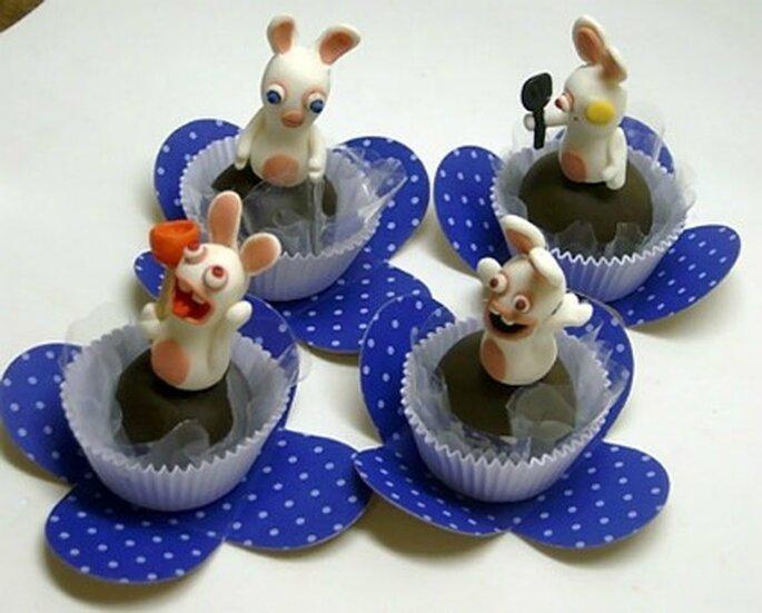 Petits gâteaux Lapins crétins - Gamesandgeeks.com