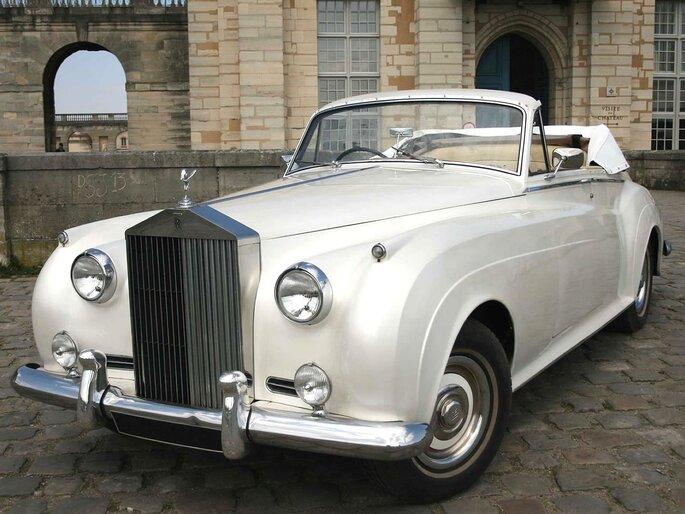 Rolls Royce Silver Cloud Cab cabriolet rétro en location