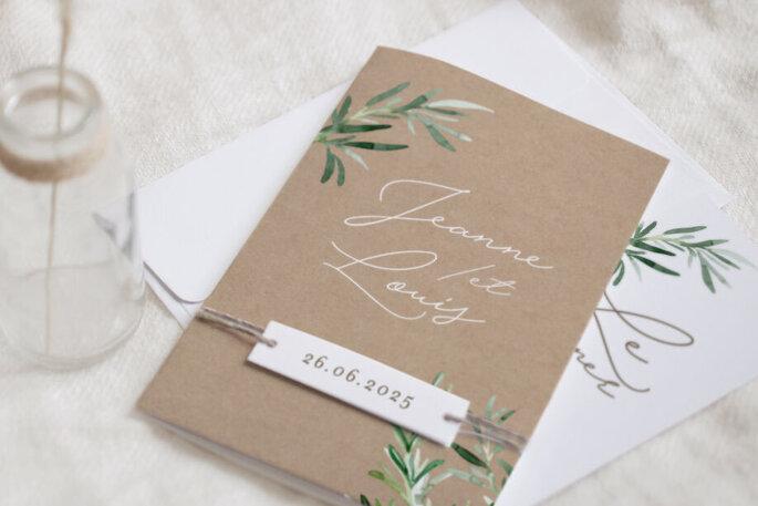 Cotton Bird - Faire-part pour votre mariage - En ligne