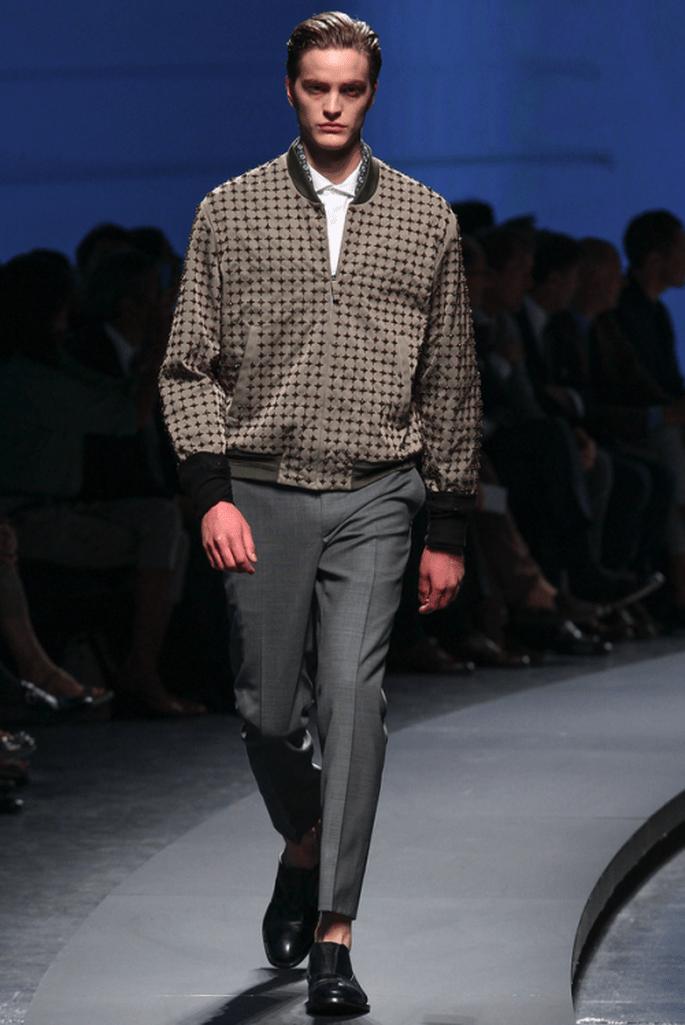 Complementa tu traje para novio con una chaqueta casual - Foto Ermenegildo Zegna