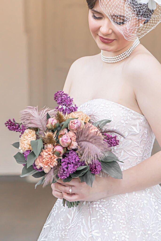 Hochzeit im Stil der goldenen 20 Jahre