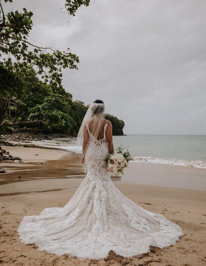Noiva na praia