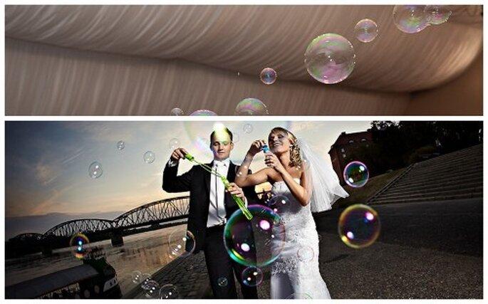 Ideas originales para boda. Fotos de Chema Naranjo y Kamil Borkiewicz.