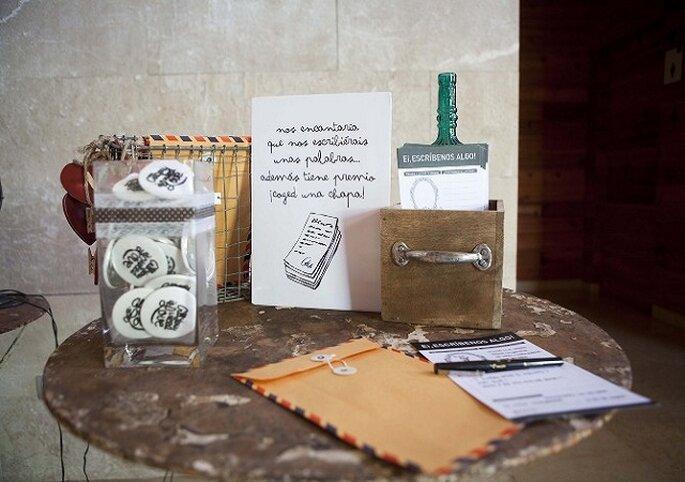 Detalles que se convertirán en recuerdos de boda. Foto. Mr. Wonderful.