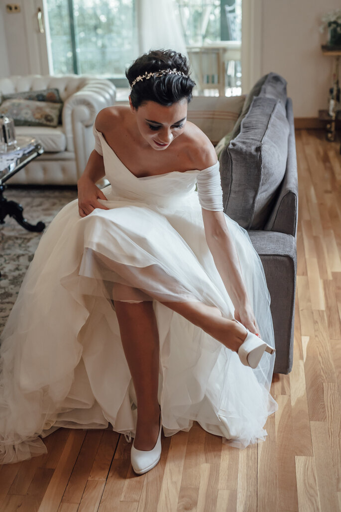 Abito da sposa ed accessori: Jenny Packham