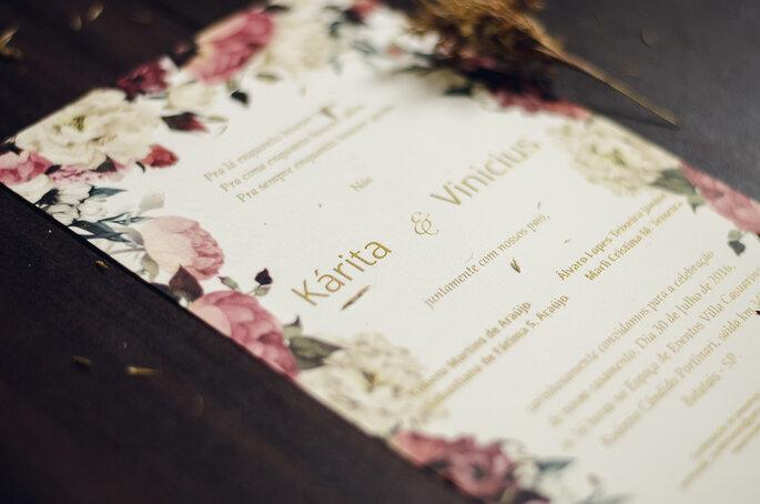 Convites: Gráfica Samuel | Foto: Pri Martins e Tiago Silva