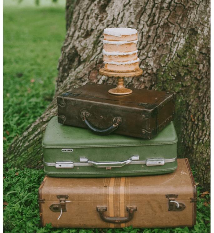 El naked cake, la tendencia más deliciosa en pasteles de boda - Foto Jessica Charles Photography
