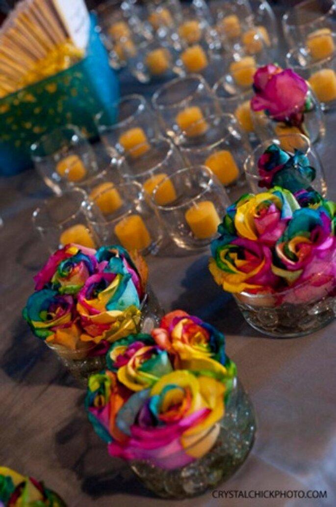 Décoration de table -Crystalchickphoto.com