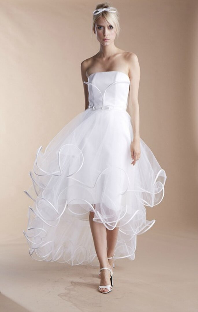 Robe de mariée Suzanne Ermann, modèle Niponne - Photo : Suzanne Ermann