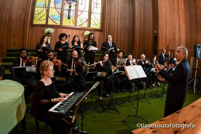 orquestra de casamento