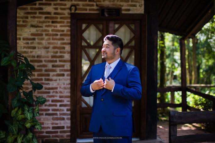 Traje, gravata e sapato do noivo: Ricardo Almeida - Foto: Paulo Cezar Jr. Fotografia