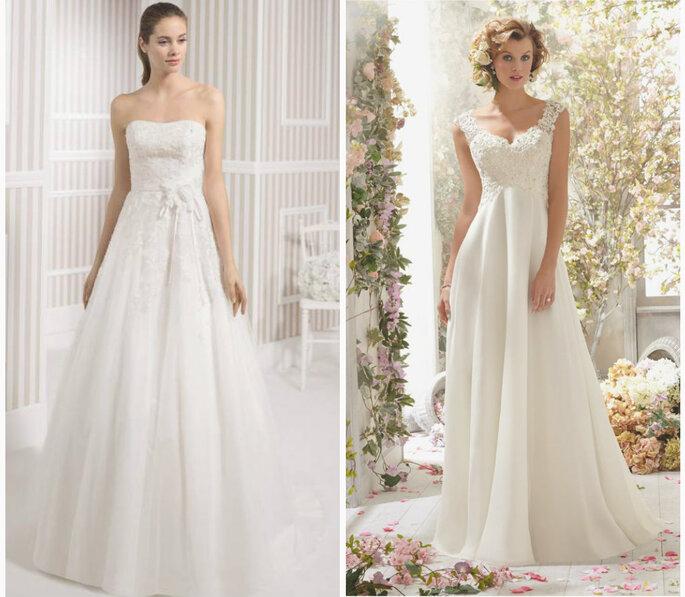 el vestido de novia según el tipo de cuerpo. ¡logra tu mejor silueta!