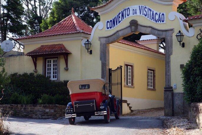 Entrada da Quinta do Convento de Nossa Senhora da Visitação