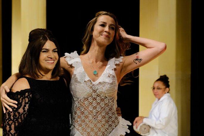 Luana Piovani participou do desfile da estilista Martha Medeiros. Foto: Namour Filho