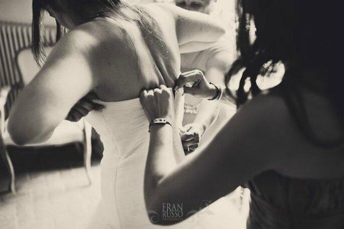 Essayages de la robe de mariée : des moments uniques - Crédit photo : Fran Russo